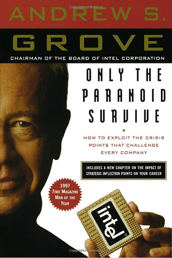 Andrew Grove's Only the Paranoid Survive: Cover